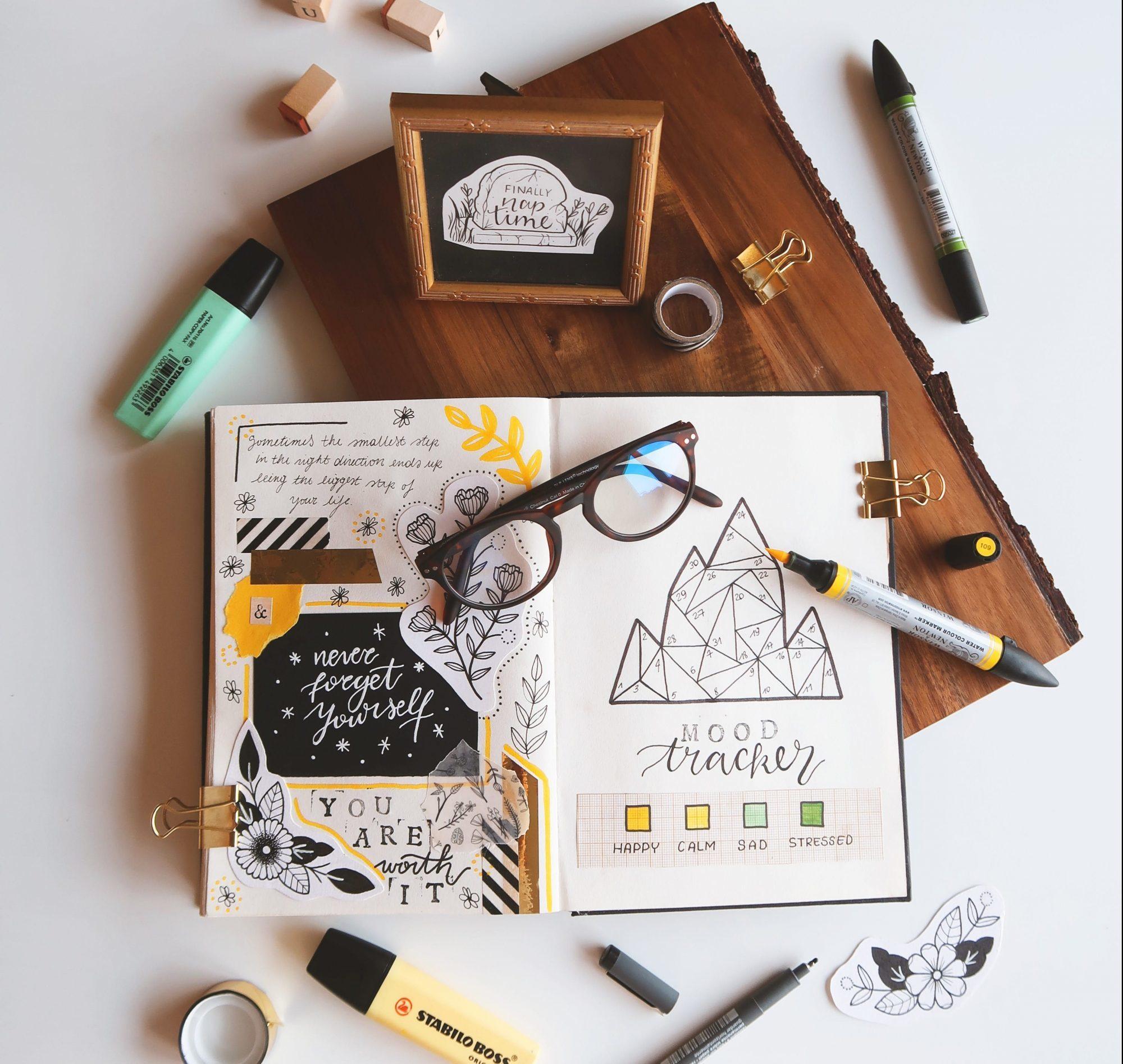 best fonts for bullet journals