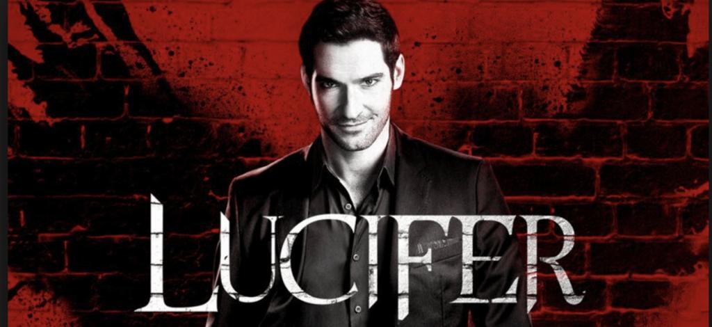 Lucifer Netflix series font