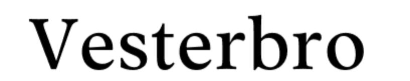 vesterbro font