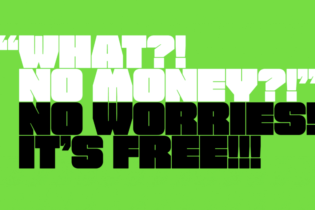 Free Fat Font - free to use- Which Were The Very Best 20 Fonts In 2019