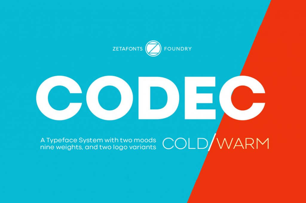 Codec- free font- Which Were The Very Best 20 Fonts In 2019