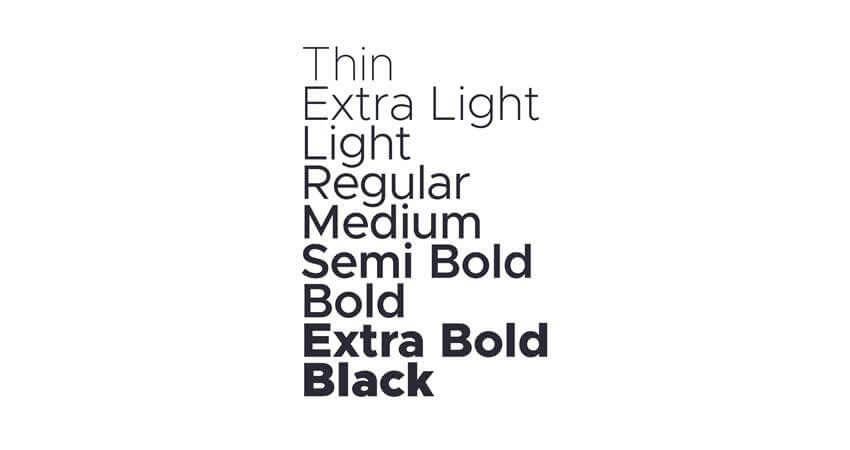 Metropolis Typeface- free font- Which Were The Very Best 20 Fonts In 2019