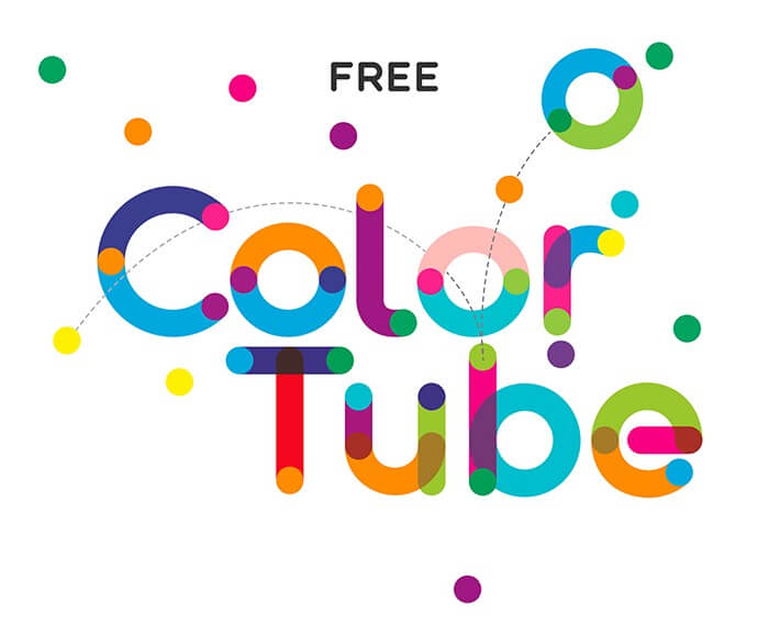 Colortube - colored free font- Which Were The Very Best 20 Fonts In 2019