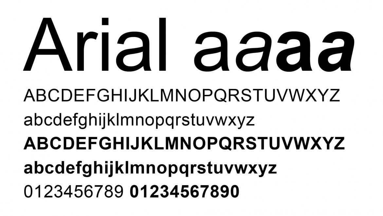 1.-Arial