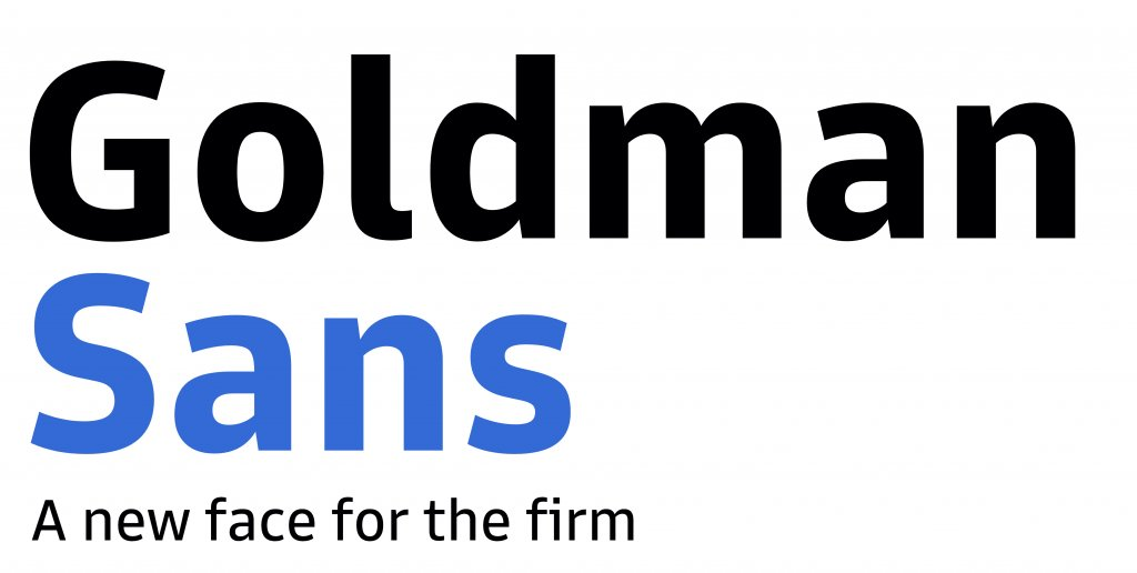 Goldman Sachs Launched Its Own Font