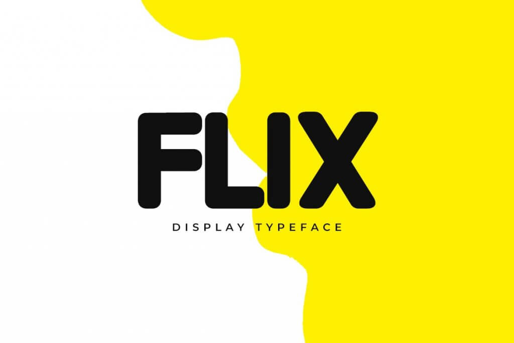 FLIX - 7 Fonts That Professional Designers Decided To Use In 2021 For Their Best Projects