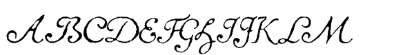 1741 Financiere Italic  What Font is
