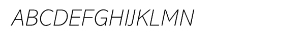 Abadi® Pro Extra Light Italic  नि: शुल्क फ़ॉन्ट्स डाउनलोड