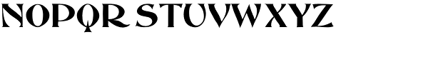 Abbott Old Style Font UPPERCASE