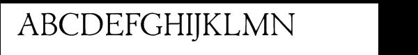 Acadami Font UPPERCASE