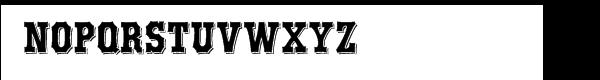 AE Boxwood Alternate Font UPPERCASE