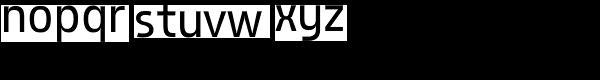 AF Generation Z Medium Font LOWERCASE