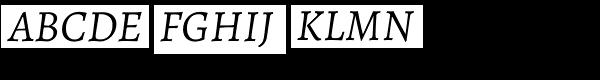 Alegreya ht Pro Italic  What Font is