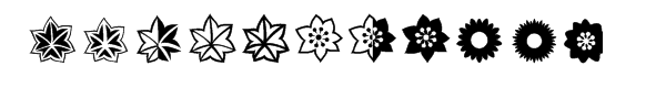 Altemus Flowers  Free Fonts Download