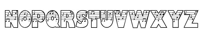 Amadeus Font LOWERCASE