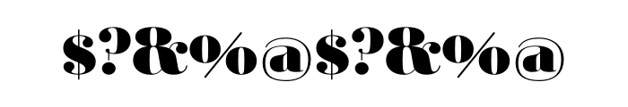 Ambroise Std Black OT Font OTHER CHARS