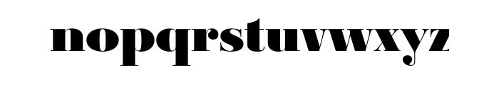 Ambroise Std Black OT Font LOWERCASE
