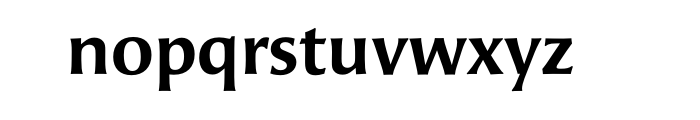 Angie Std Sans Bold OT Font LOWERCASE