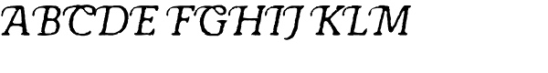 Antihistory Italic  What Font is