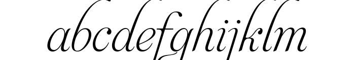 Aphrodite Slim Text Font LOWERCASE