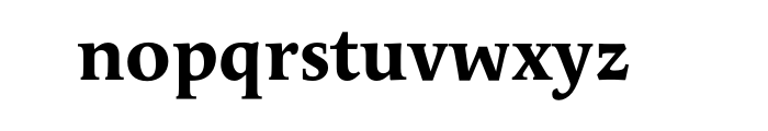 Apolline Std Bold OT Font LOWERCASE