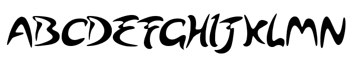 Arabolical Font UPPERCASE