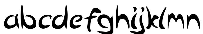 Arabolical Font LOWERCASE