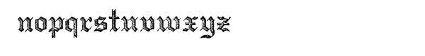 Archive Copperplate Text™ Font LOWERCASE