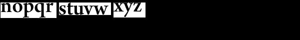 Arno Pro-Smbd Subhead Font LOWERCASE