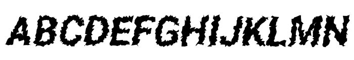 Asimov Aggro Condensed Italic  What Font is