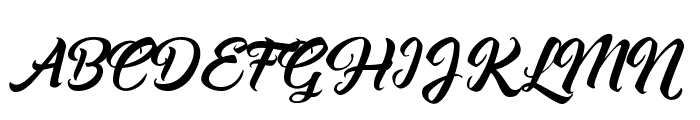 Asiyah Script  What Font is