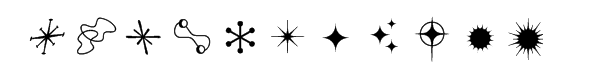 Astound Dings Font LOWERCASE