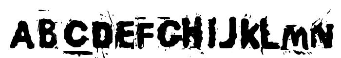 Awaken Font UPPERCASE