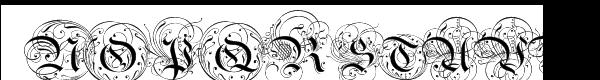 Ayres Royal Font UPPERCASE
