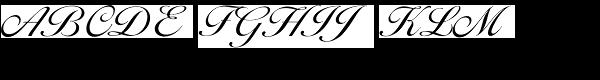 Ballantines Script EF Light  What Font is