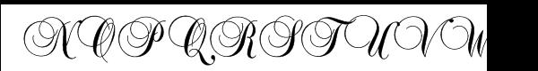 Balmoral™ Com Plain Font UPPERCASE