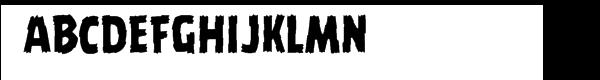 Battle Damaged Regular  नि: शुल्क फ़ॉन्ट्स डाउनलोड