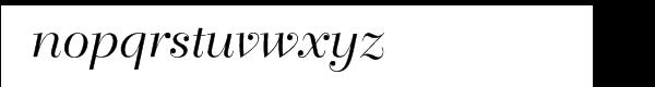 Bellevue Font LOWERCASE