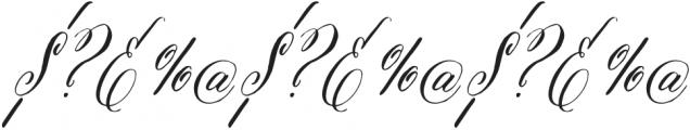Belluccia Contextual Regular Otf 400 Font