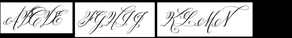 Belluccia Pro Font UPPERCASE