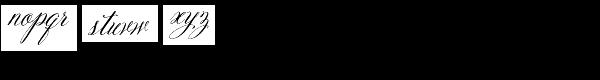 Belluccia Pro Font LOWERCASE
