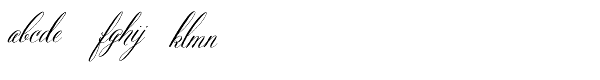 Belluccia Font LOWERCASE