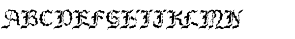 Bene Cryptine Antique  What Font is