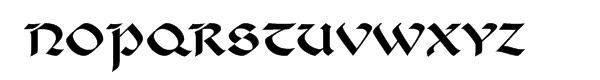 "Benetaâ""¢ Com Roman Font UPPERCASE"