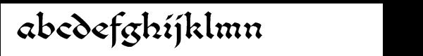 """Benetaâ""""¢ Com Roman Font LOWERCASE"""