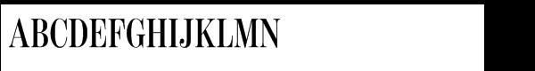 Benton Modern Std Display Compressed Semibold Italic  What Font is