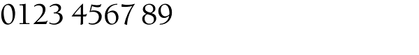 Berkeley Std-Medium Font OTHER CHARS