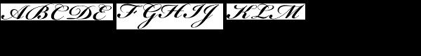 Bickham Script Bold  What Font is