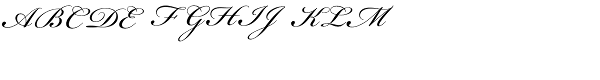 Bickham Script Regular  What Font is
