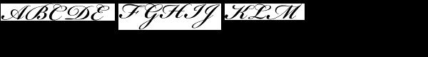 Bickham Script Semibold  What Font is